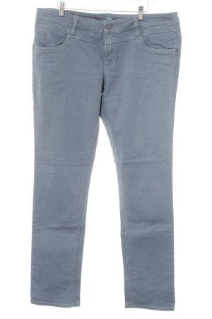 Jeans a gamba dritta azzurro stile casual