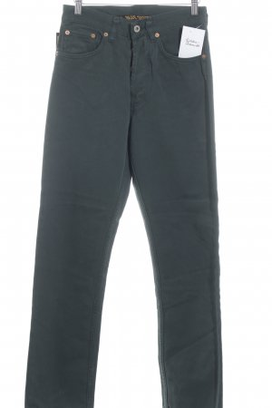 "Straight Leg Jeans ""Overdyed"" forest green"