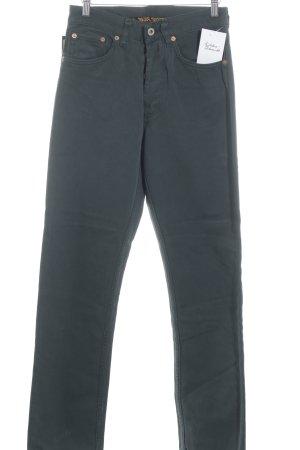 "Straight-Leg Jeans ""Overdyed"" waldgrün"