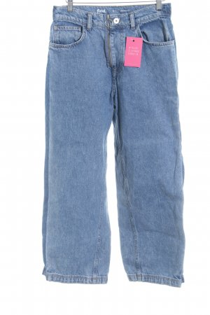 Straight-Leg Jeans stahlblau Casual-Look