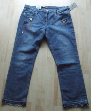 Brax Jeans a 7/8 blu Cotone