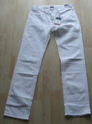 Straight Leg Jeans von Hilfiger Denim - weiß - Gr. W29 L32