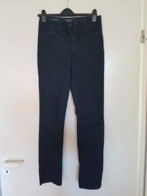 Straightleg, Slim NYDJ jeans mit verzierten Taschen