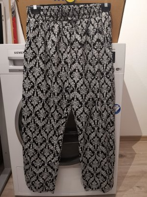 Strandkleding wit-zwart