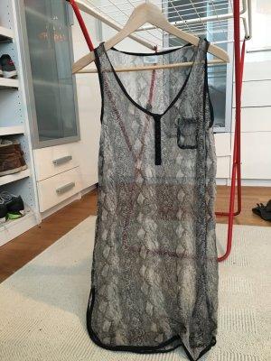 Strand Kleid in Schlangenoptik