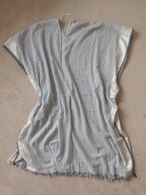 H&M Strandkleding lichtgrijs Katoen