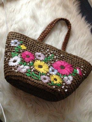 Bag magenta-brown