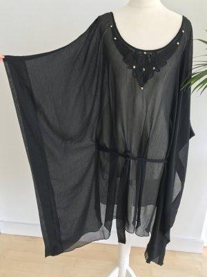 Strand Tunika schwarz sexy Sommerkleid Strandkleid Kleid Neu