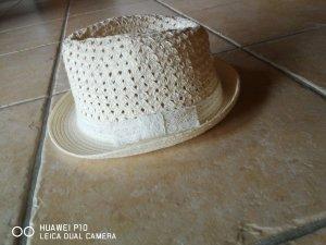 H&M Sombrero de ala ancha crema