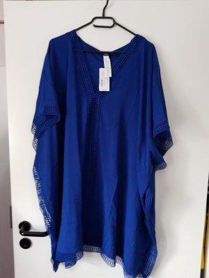 Calzedonia Caftán azul Viscosa