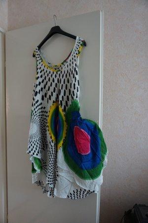 Vestito da spiaggia multicolore Viscosa