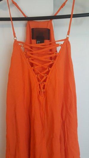 H&M Vestido playero naranja