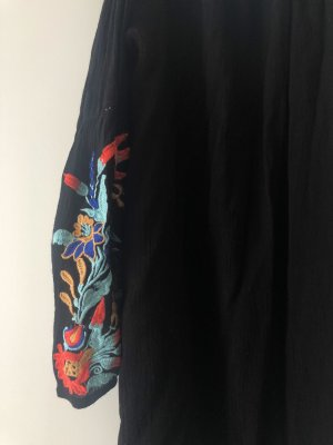Boohoo Beach Dress black-red