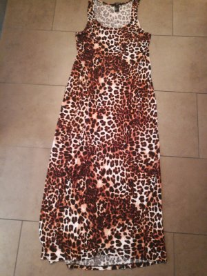 H&M Beach Dress brown-black brown