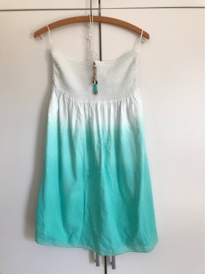 Watercult Beach Dress white-turquoise