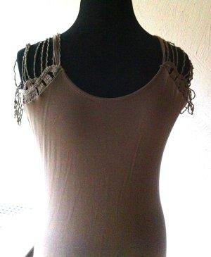 Heine Shirt Dress grey brown