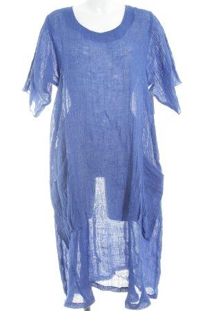 Vestido playero azul estilo extravagante