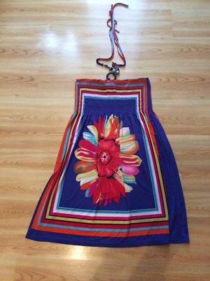 Colloseum Vestido de cuello Halter multicolor