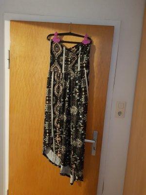 Lascana Vestido bandeau marrón-albaricoque