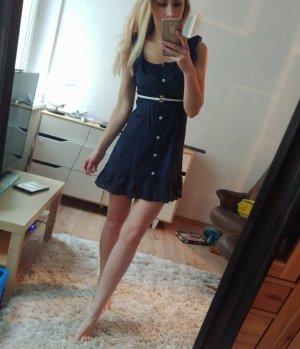 Strandkleid dunkelblau gr XS