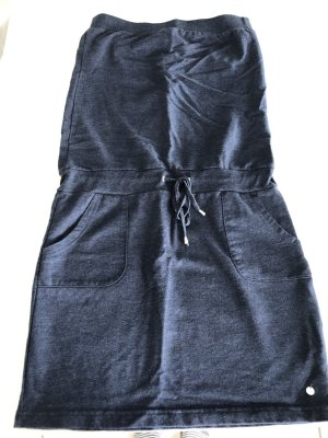 Esprit Vestido playero azul oscuro Algodón