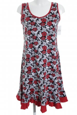 Beach Dress floral pattern casual look