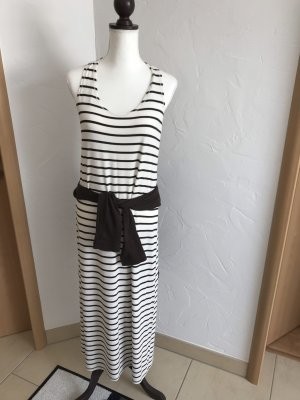Beach Dress dark brown-natural white