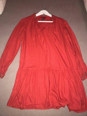 Strandkleid in rot h&m