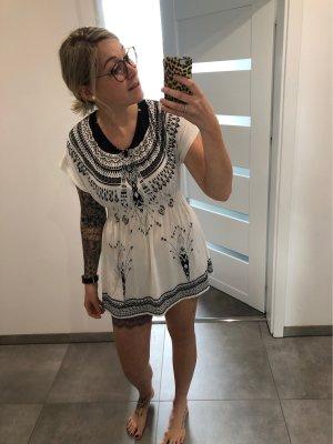 Strandkleding zwart-wit