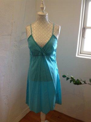Strandkleid, Kleid in türkis Gr. 38