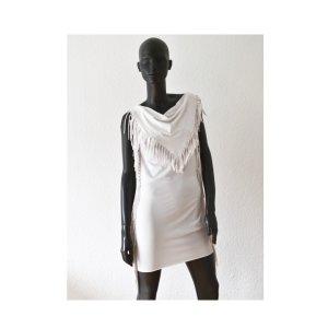 Strandkleid Kleid mit Fransen xs/s/m Beach dress