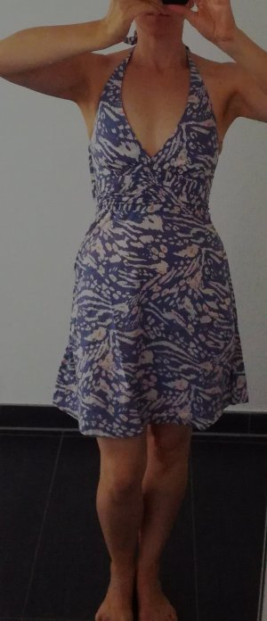Strandkleid, Neckholderkleid, Sommerkleid, gemustert, H&M, Gr. 36