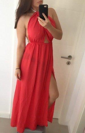 Vestido playero rojo