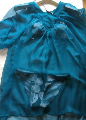 Strandkleding turkoois-lichtblauw kunststof