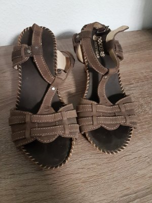 Dockers Beach Sandals brown