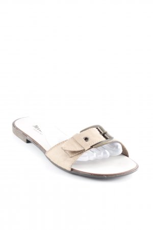 Beach Sandals beige casual look