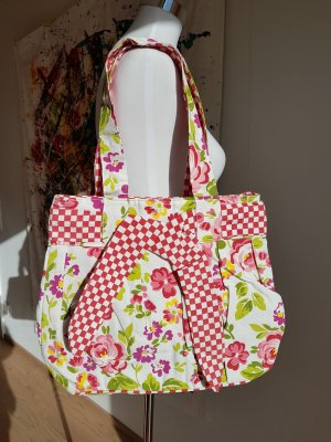 Canvas Bag multicolored cotton