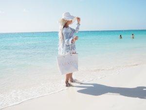 Strandtasche Badetasche Shopper PARADIES