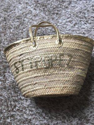 Strandtasche St Tropez Gold Handmade