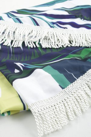 Strandtuch florales Muster Beach-Look