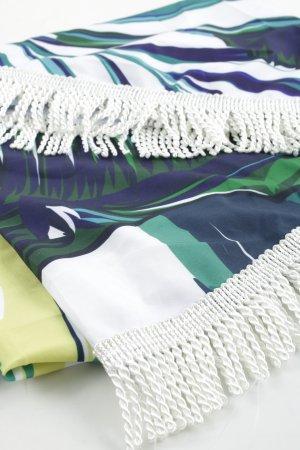 Serviette de plage motif floral Look de plage