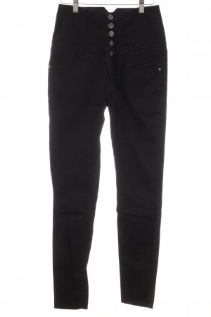 Strange High Waist Jeans schwarz Casual-Look