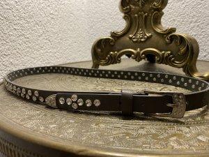 Cinturón de cadera taupe-marrón grisáceo