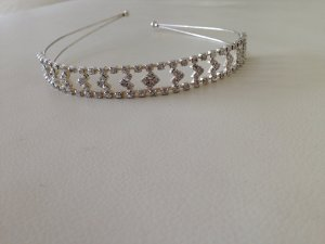 1975 Hair Circlet white