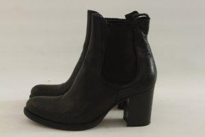 STRATEGIA Boots Gr. 41 schwarz Leder