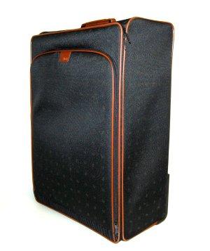 Valise Trolley noir nylon