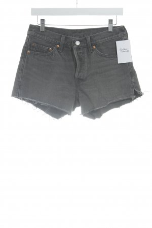 Strauss Hot pants taupe-grijs casual uitstraling