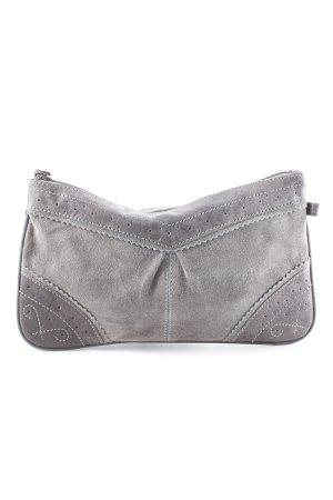 Strauss Innovation Clutch graublau-grauviolett Falten-Detail