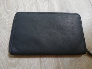 Strauss Innovation Wallet petrol leather