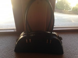 Fionella Carry Bag black leather